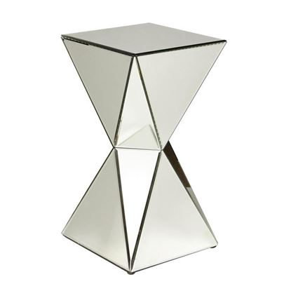 Picture of Pulaski - Triangular Mirrored Accent Table