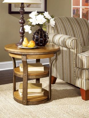 Picture of VERO Round End Table -KD