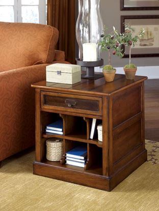 Picture of MERCANTILE Rectangular Storage End Table -KD