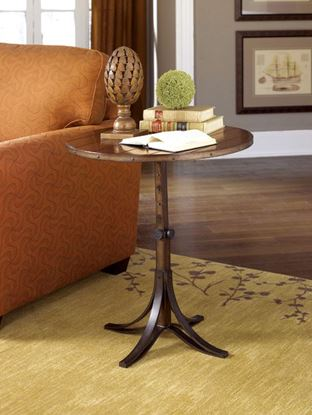 Picture of MERCANTILE Round Adjustable Accent Table -KD