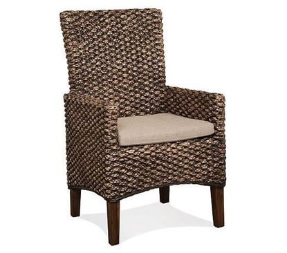 Picture of Mix-N-Match Woven Leaf Arm Chair