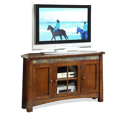 Picture of Craftsman Home Corner TV Console