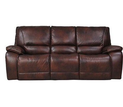 Picture of Vail Burnt Sienna Leather Sofa