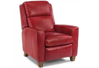 Dion Leather High-Leg Recliner