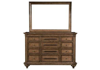 Blake 9-Drawer Dresser With Mirror