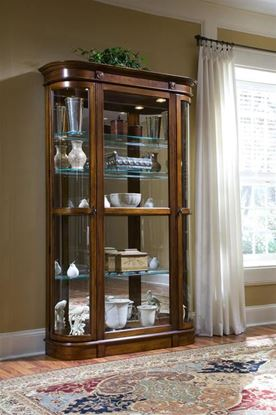 Picture of Pulaski - #21131 Curio with curved sides