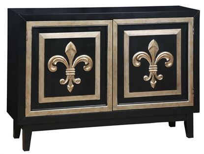 Picture of Pulaski - Black Accent Credenza