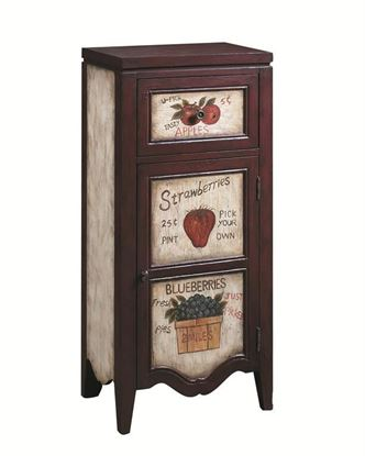 Picture of Pulaski - Hand Painted Fruit Stand