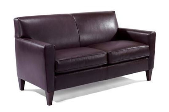 Digby Two-Cushion Leather Sofa 3966-30