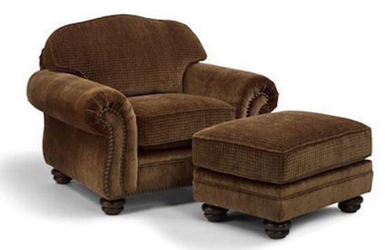 Bexley Chair & Ottoman (8646-10)