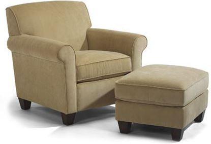 Dana Fabric Chair & Ottoman (M5990-10-08)