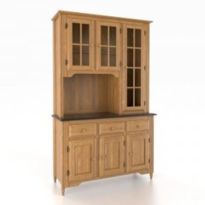 Picture of 4800 Buffet w/ 4850 Honey Washed Hutch