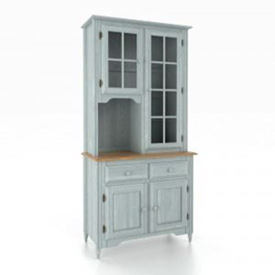 Picture of Sky Blue Washed Buffet