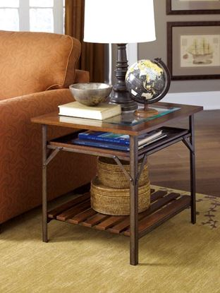 Picture of MERCANTILE Rectangular End Table -KD