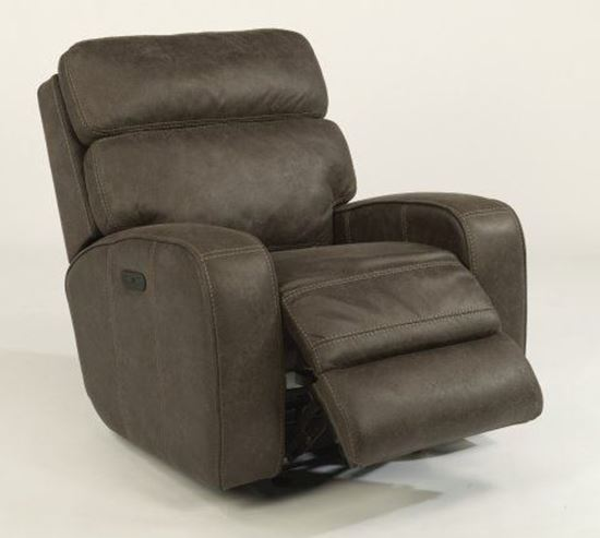 Tomkins Fabric Power Gliding Recliner (1326-54PH)
