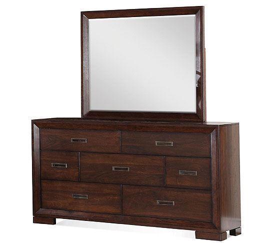 Picture of Riata Dresser with Landscape Mirror