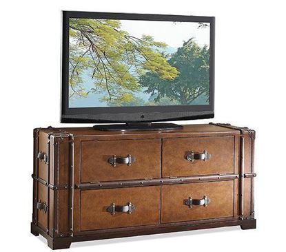 Picture of Latitudes Steamer Trunk TV Console