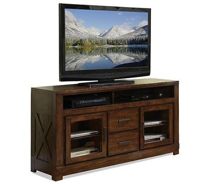 Picture of Windridge Glass Door TV Console