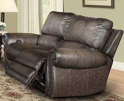 Picture of Thurston Havana Leather Loveseat