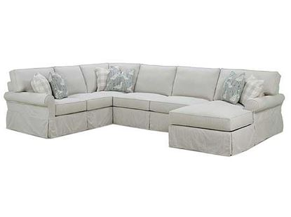 Picture of Easton Slipcover Sectional