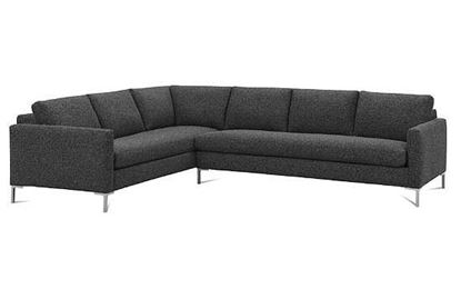 Modern Mix Plain Back Sectional