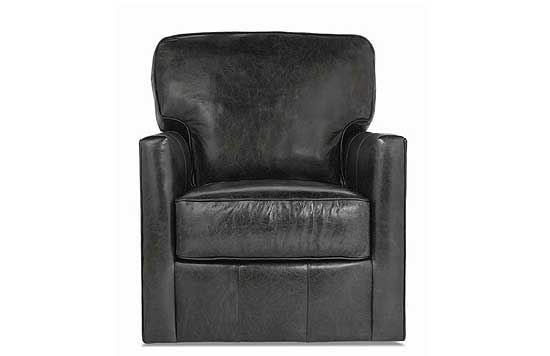 Evan Leather Swivel