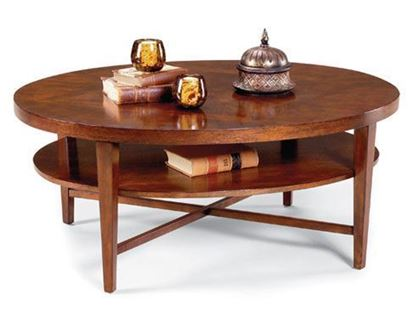 Picture of Fairfield 8010-46 Oval Cocktail Table