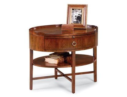 Picture of Fairfield 8010-47 Oval End Table
