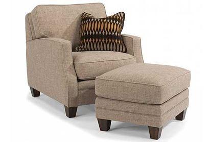 Lennox Fabric Chair & Ottoman 97564-10)
