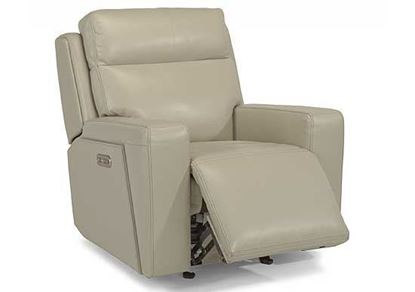 Niko Power Gliding Leather Recliner
