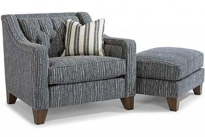 Sullivan Fabric Chair & Ottoman (7103-10)