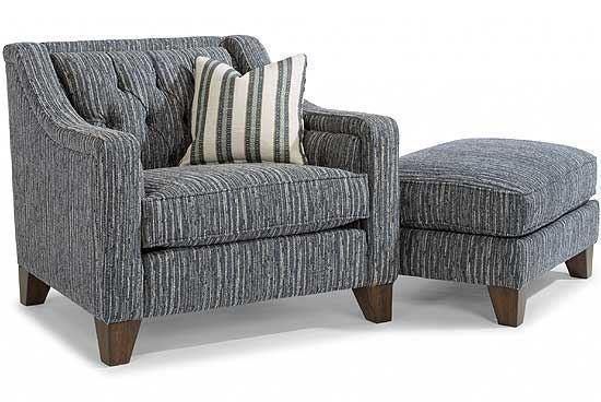 Sullivan Fabric Chair & Ottoman (7103-10)