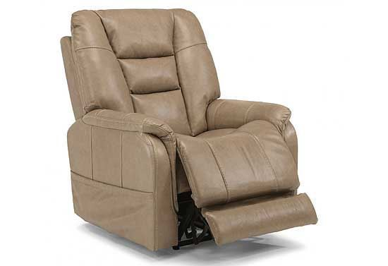 Theo Leather Power Recliner with Power Headrest (1569-50PH)