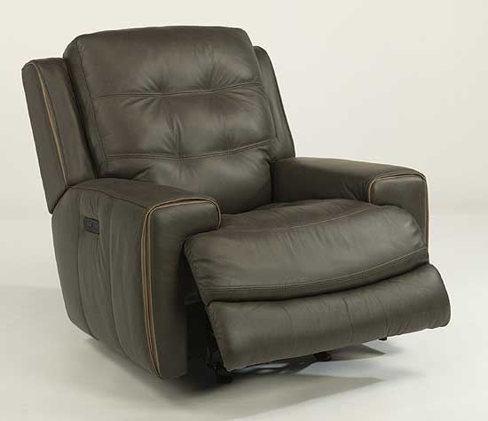 Wicklow Leather Power Gliding Recliner (1681-54PH)