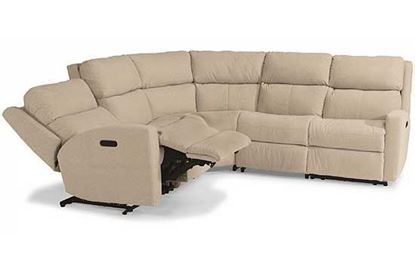 Catalina Power Reclining Leather Sectional (3900-SECTPH)