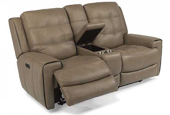 Wicklow Power Reclining Loveseat with Consolev