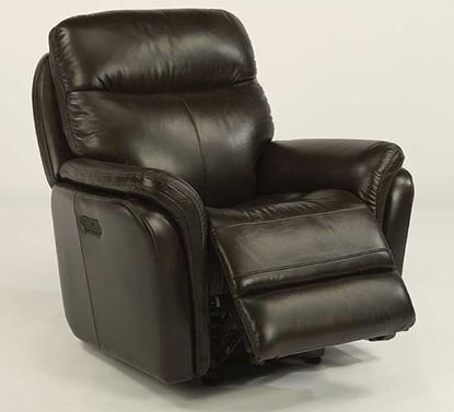 Zoey Leather Power Gliding Recliner (1653-54PH)