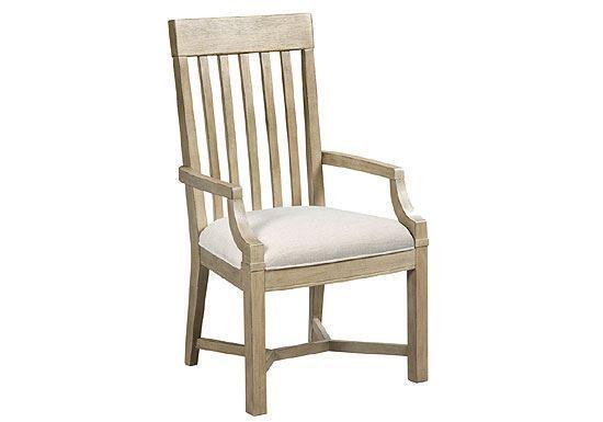 Litchfield - James Arm Chair Driftwood 750-637D