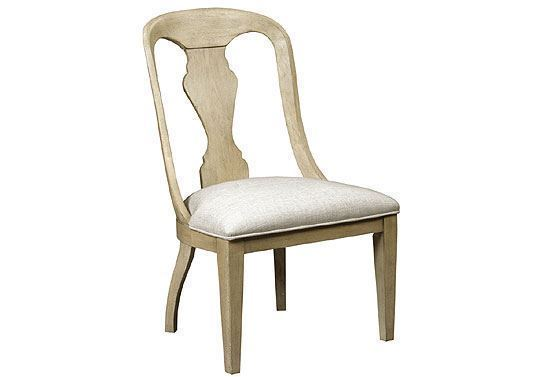 Litchfield - Whitby Side Chair Driftwood 750-622D