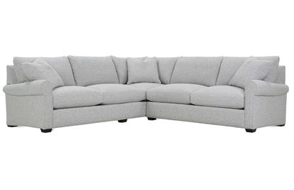Aberdeen Sectional (P603 SECT) By ROWE