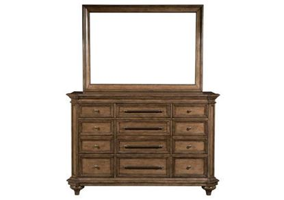 Blake 9-Drawer Dresser With Mirror