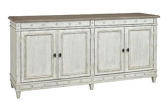 Bella Buffet Server - 4572-0309 with Wood Top