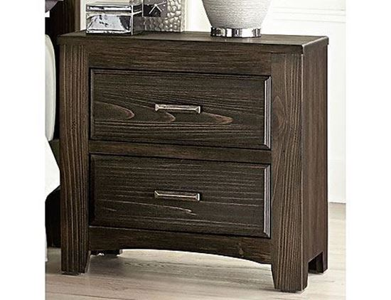 Cottage Too Nightstand 70-2262 in a Coffee finish