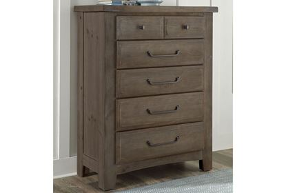 Picture of Sawmill 5 Drawer Chest
