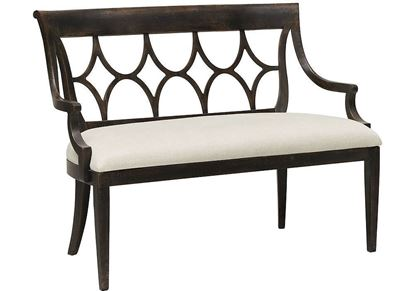 Woodridge Bench (4437-0348) in a Cavern Black finish
