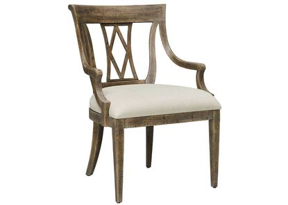 Woodridge Arm Chair (4597-2450) in a Sierra Brown finish