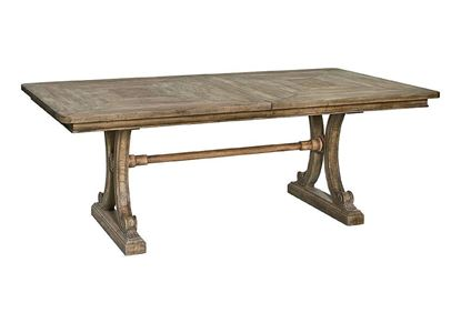 Woodridge Rectangular Dining Table (4597-8344) in a Sierra Brown finish
