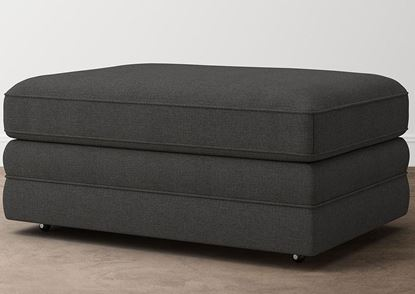 Aiden Storage Ottoman 2713-S2FC9 in a Charcoal fabric