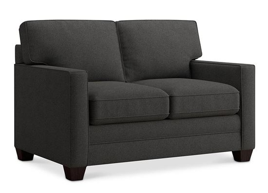 Aiden Loveseat (2713-42FC9) in a Charcoal fabric