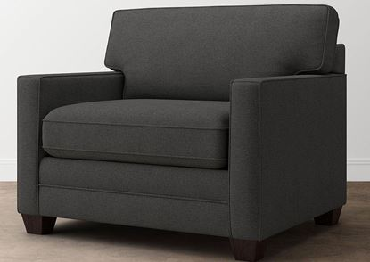 Aiden Chair and a Half (713-18FC9) in a Charcoal fabric
